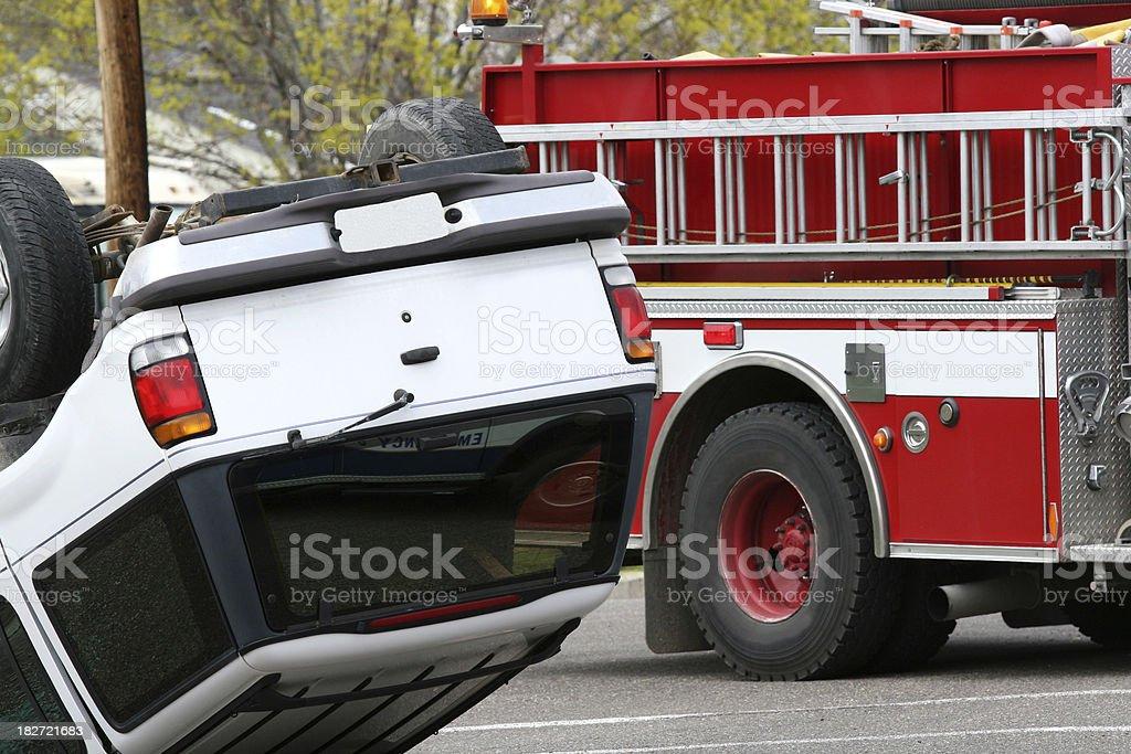 Car accident crash royalty-free stock photo