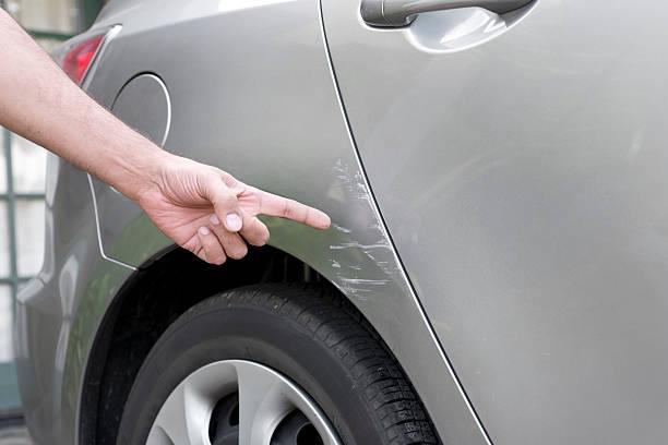 Car Accident Damage stock photo