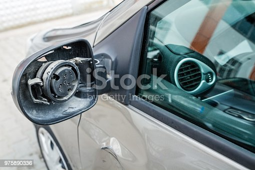 684793794istockphoto Car Accident on Street, Damaged Automobiles After collision 975890336