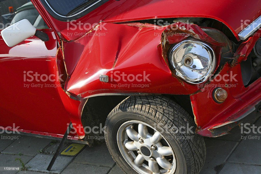 Car accident # 2 royalty-free stock photo