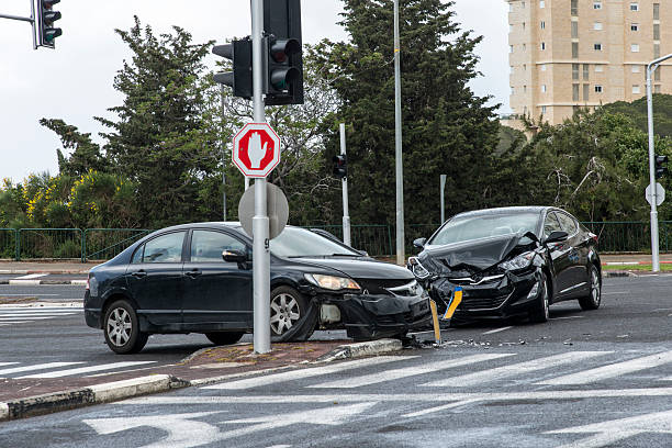 Auto-Unfall – Foto