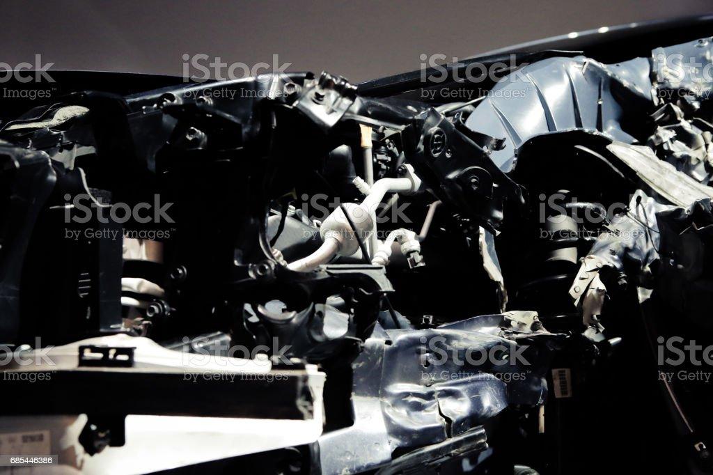 car accident foto de stock royalty-free