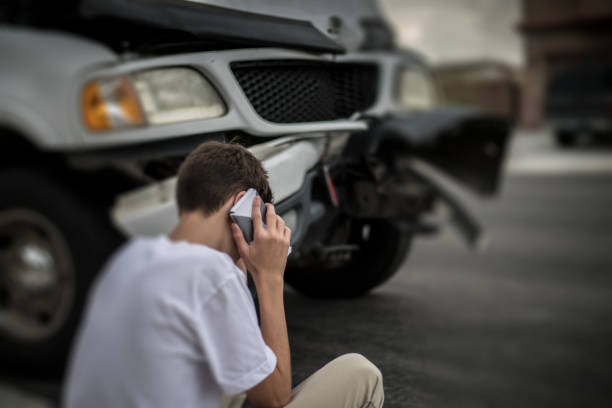 car accident - car accident stock photos and pictures