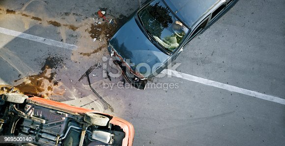 istock Car accident 969500140