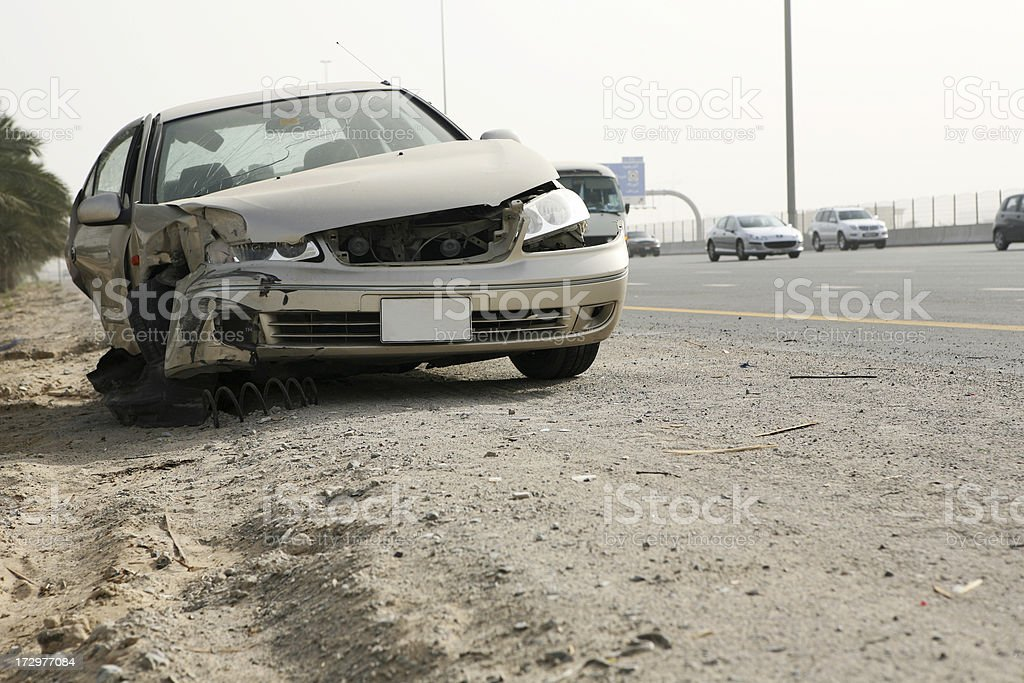 Car Accident Series 1 royalty-free stock photo