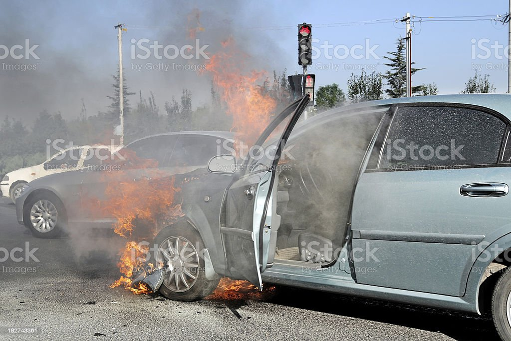 Car Accident  - XLarge royalty-free stock photo