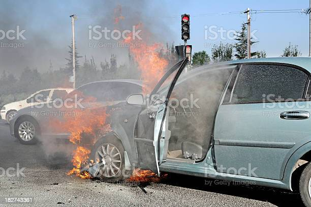 Car Accident Xlarge Stock Photo - Download Image Now