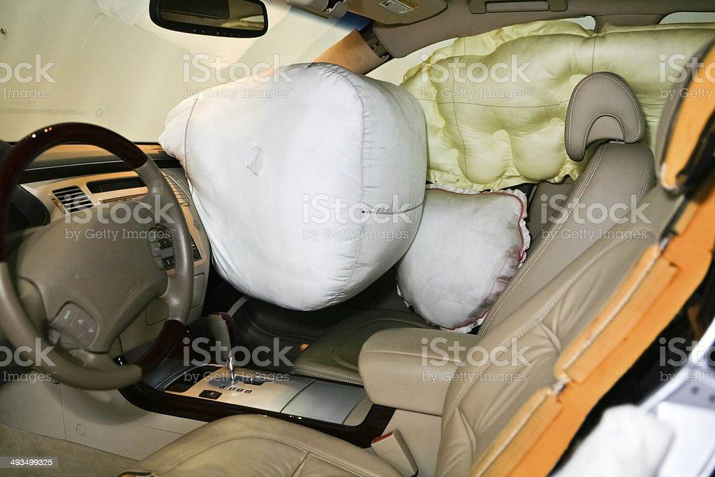 Car Air Bag stock photo