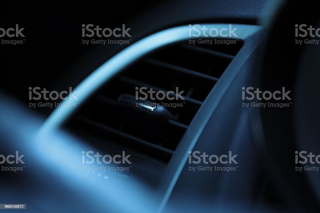 Car Air Conditioner royalty-free stock photo