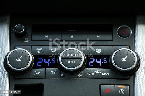 istock Car air conditioning 1061900522