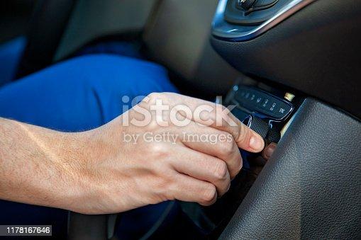 istock Car air conditioning 1178167646