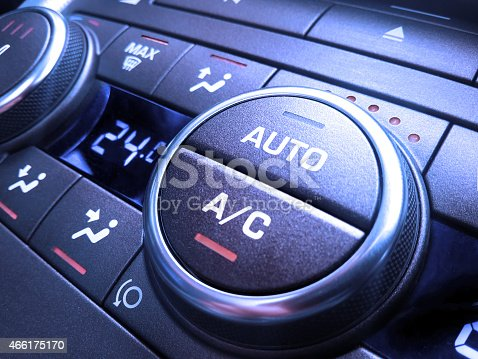 istock Car air conditioning 466175170