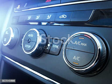 istock Car air conditioning 502545866