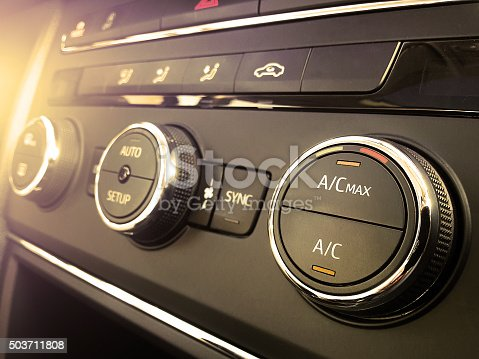 istock Car air conditioning 503711808