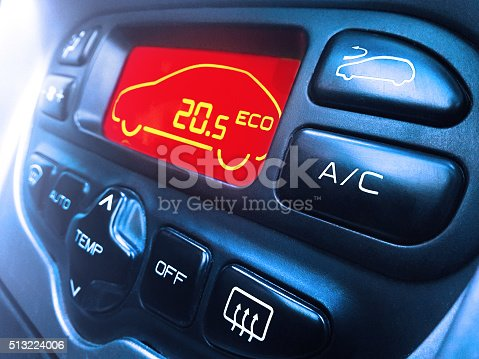 istock Car air conditioning 513224006