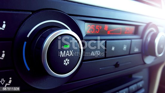 istock Car air conditioning 587511328
