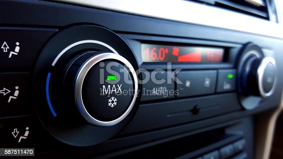 istock Car air conditioning 587511470