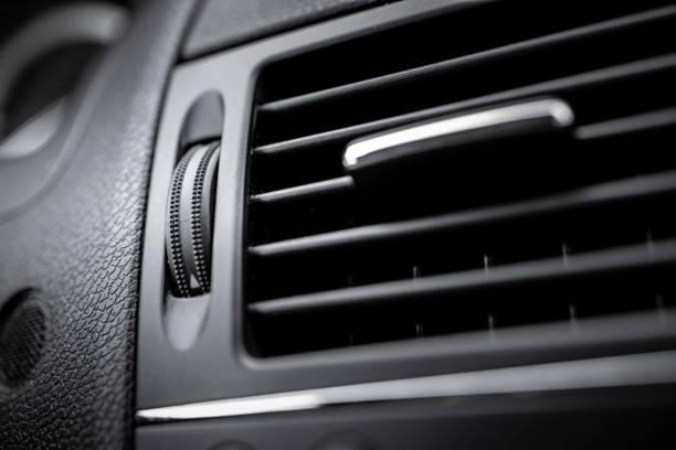 Car air conditioning ventilation stock photo