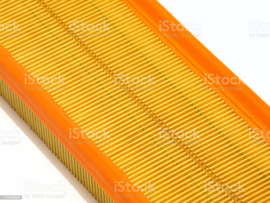 car air filter royalty-free stock photo