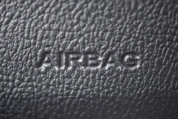 Auto-Airbag-Nahaufnahme – Foto