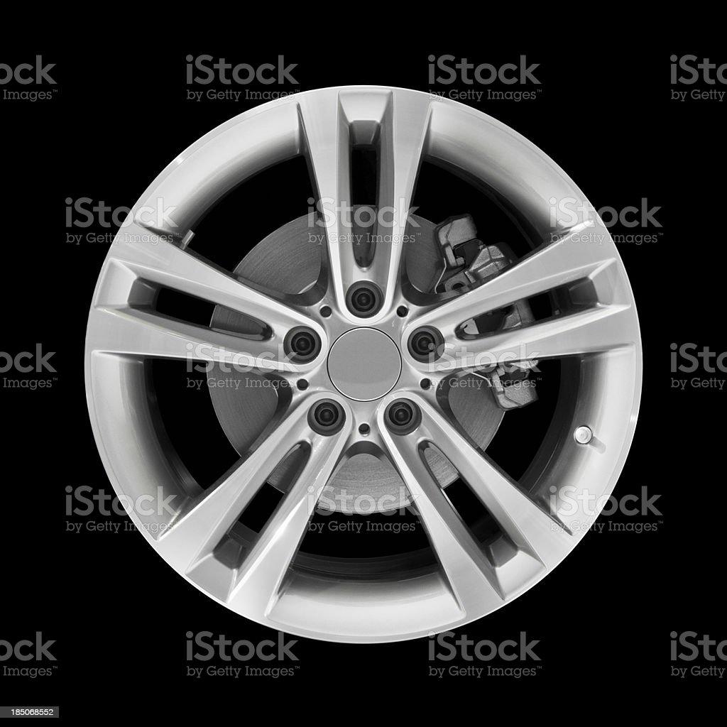 Car Alloy Wheel stock photo