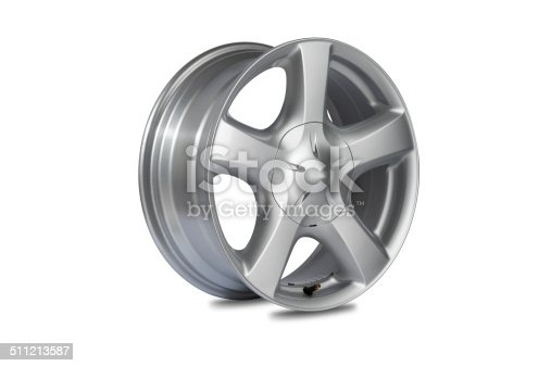 istock Car alloy wheel 511213587