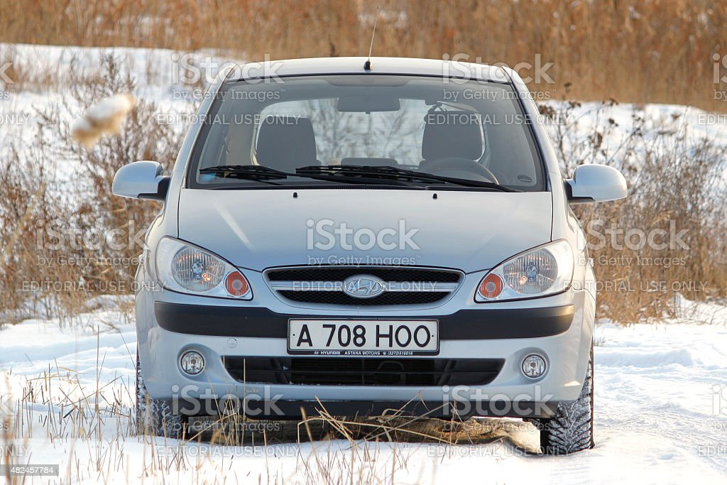 Car at the show field. stock photo