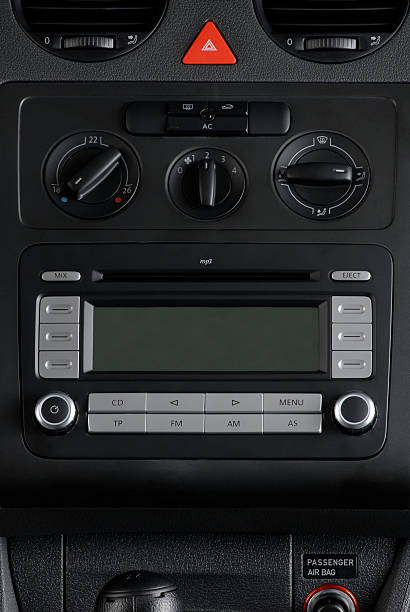 Car Audio System stock photo