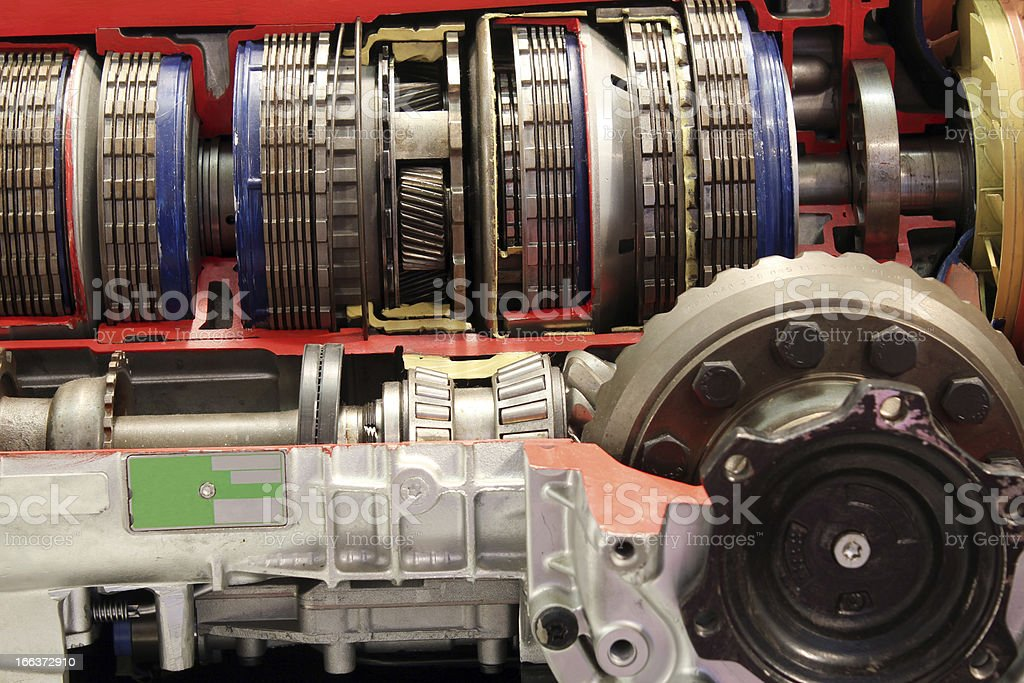 car automatic gear transmission detail royalty-free stock photo
