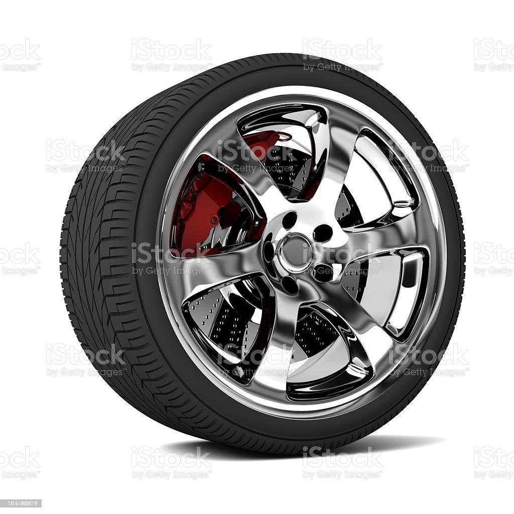 Car Automotive Wheel royalty-free stock photo