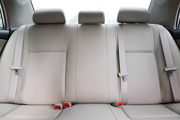Car backseats stock photo