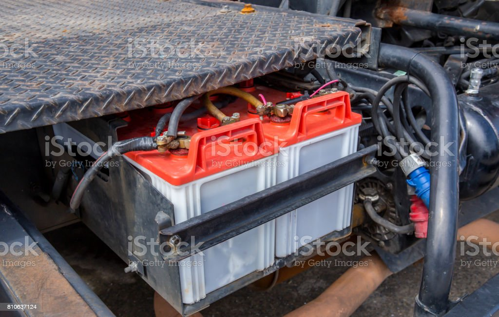 Car Battery, Battery, Engine, Power Supply, Car stock photo