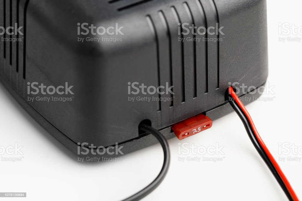 Car Battery Charger Fuse Stock Photo Download Image Now