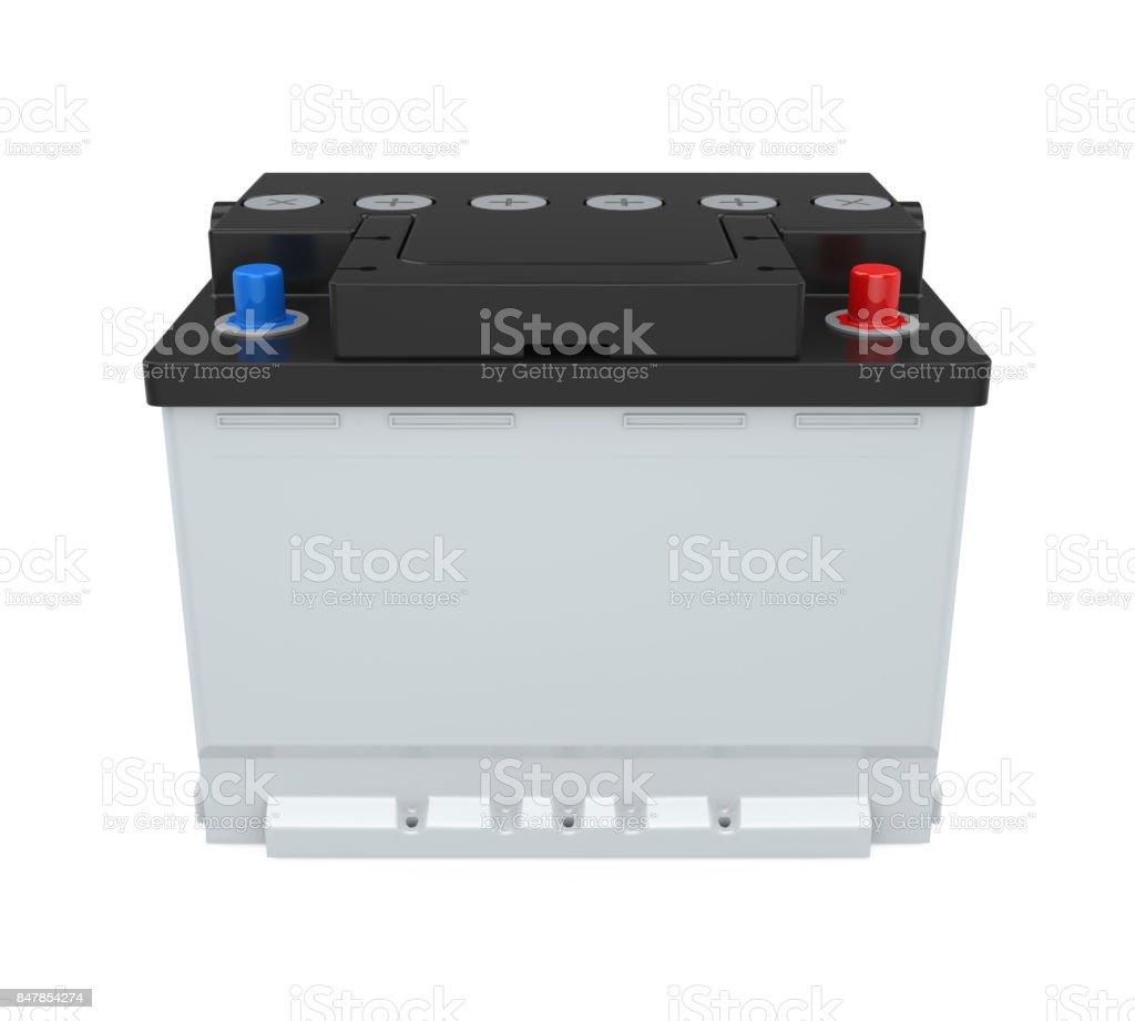 Car Battery Isolated stock photo