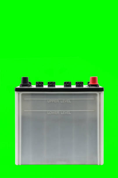 Car battery on a white background Car battery on an isolated white background cobalt sulfate stock pictures, royalty-free photos & images