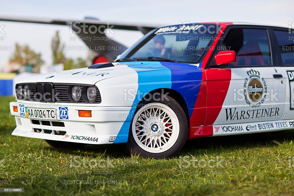 Car Bmw E30 M3 Side View In Front Stock Photo More Pictures Of