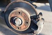 istock Car Brake Disc 1309333262