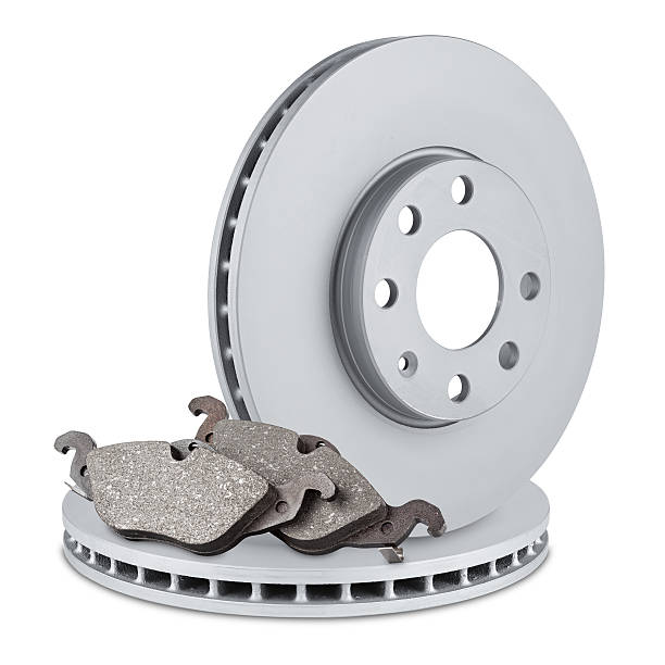 disques de frein et plaquettes - disque de frein photos et images de collection