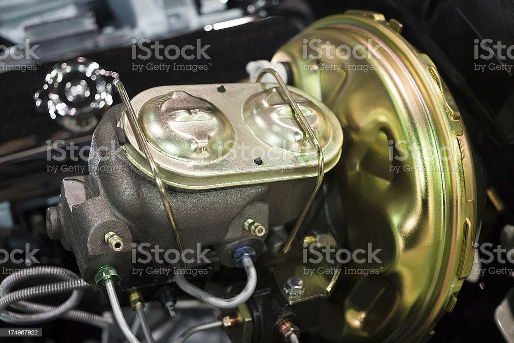 Car Brake Master Cylinder stock photo