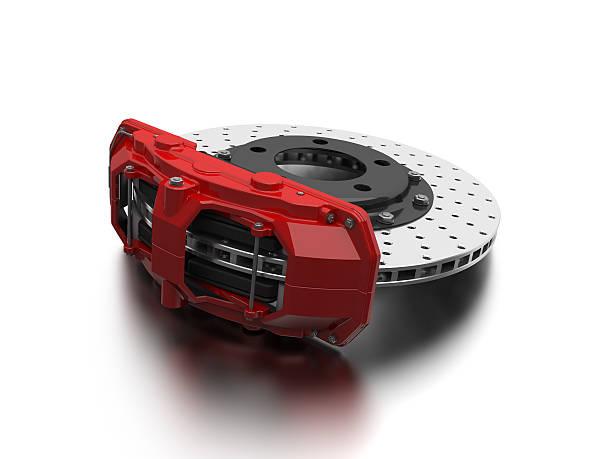 voiture de frein - disque de frein photos et images de collection