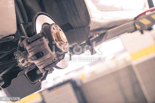 istock Car brake 523517079