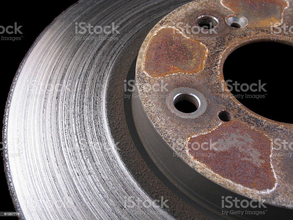 Car Brake Rotor royalty-free stock photo