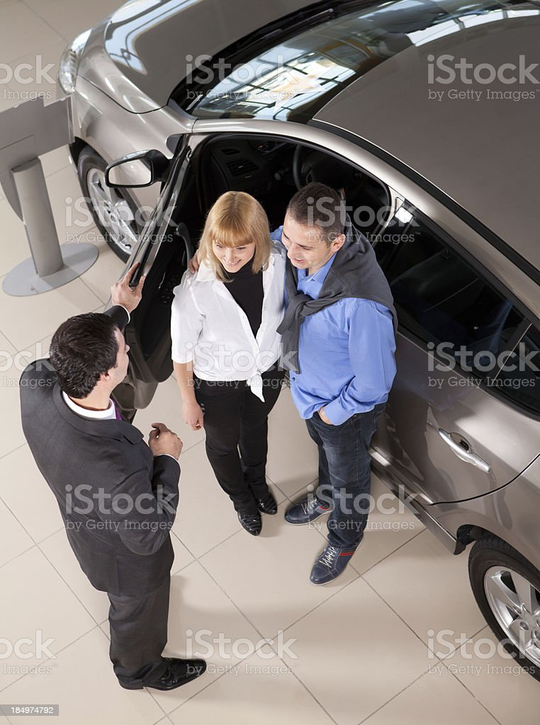 Car Buying royalty-free stock photo