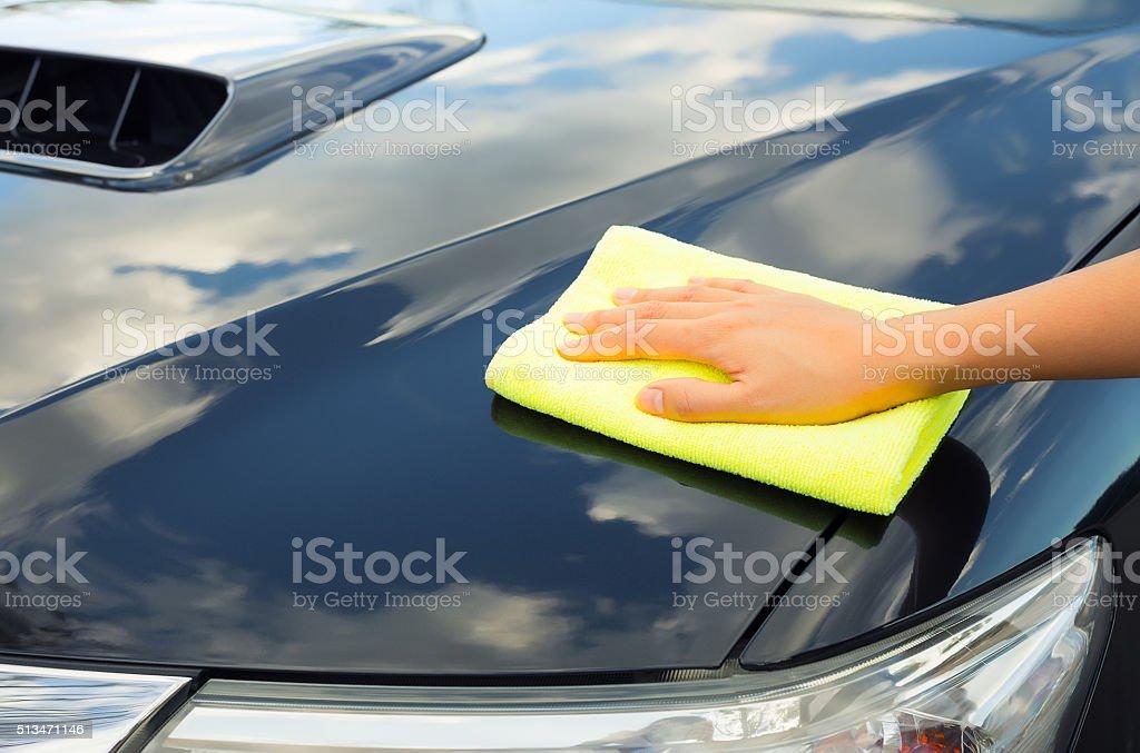 Car care stock photo