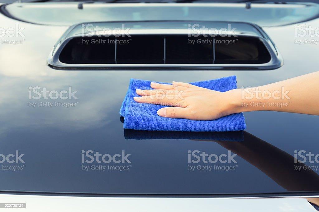 Car care service stock photo
