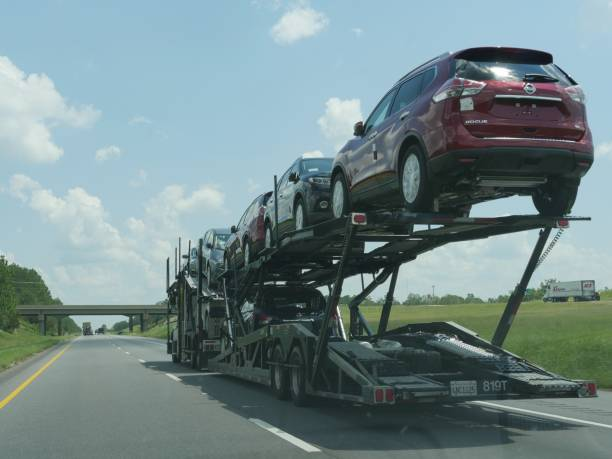 1,087 Car Hauler Stock Photos, Pictures & Royalty-Free Images - iStock