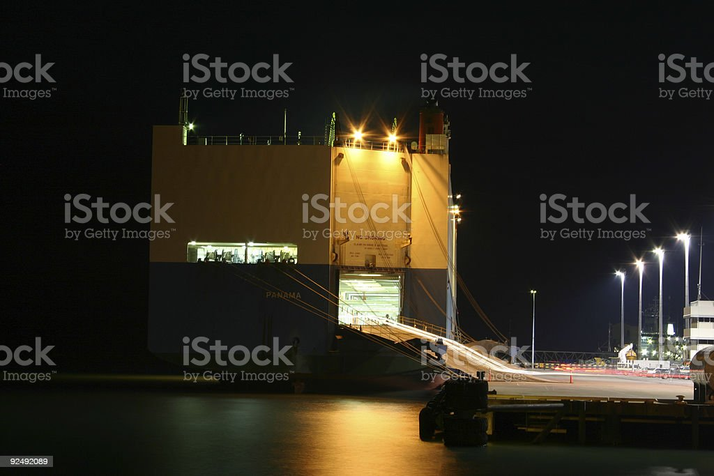car carrier stalker royalty-free stock photo