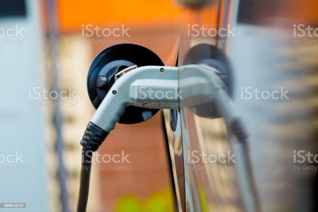 Car Charging - foto stock