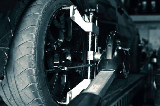 car checking - brake service stock photos and pictures