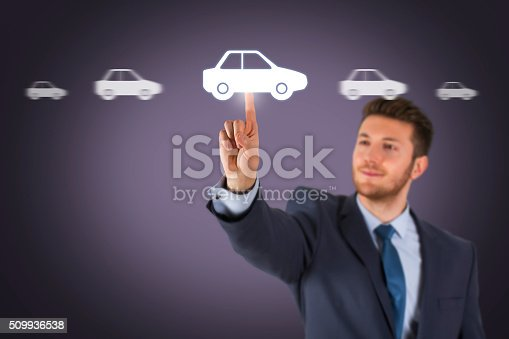 683425144 istock photo Car Choice on Screen 509936538